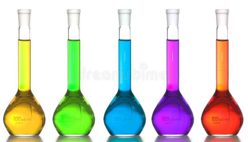 Flasks stock photos