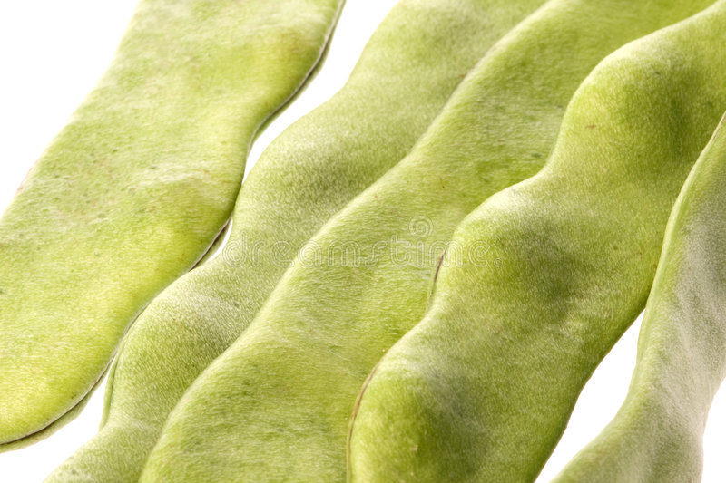 Download Flat Beans Isolated stock image. Image of produce, ingredients - 6967751