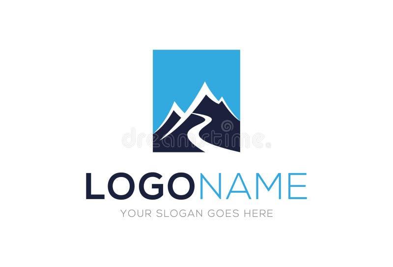 Green Mountain Circle With Bear Logo Design Stock Vector ...