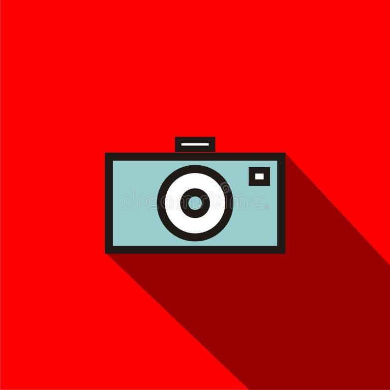 Flat cam royalty free stock photo
