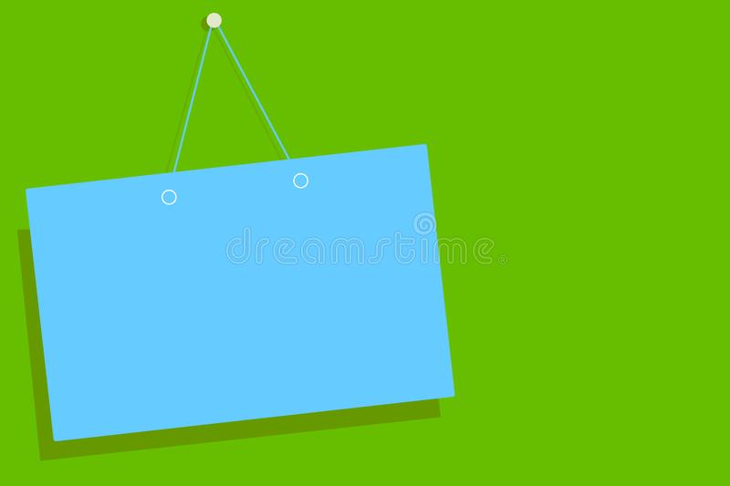 Flat design business vector illustration concept. Business ad for website and promotion banners. empty social media copy space tex. T for your own texts stock illustration