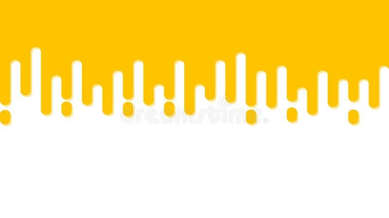 Flat geometric abstract yellow cheese background. stock photo