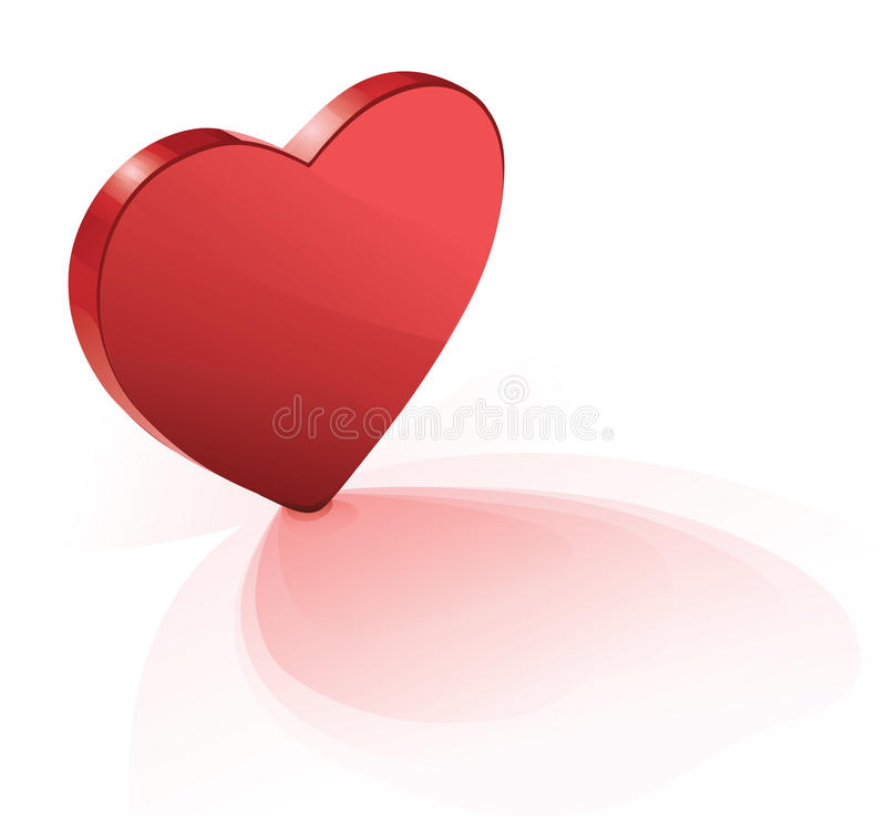 Download Flat Heart. Royalty Free Stock Images - Image: 12620709