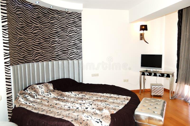 Flat in het luxehotel royalty-vrije stock foto's