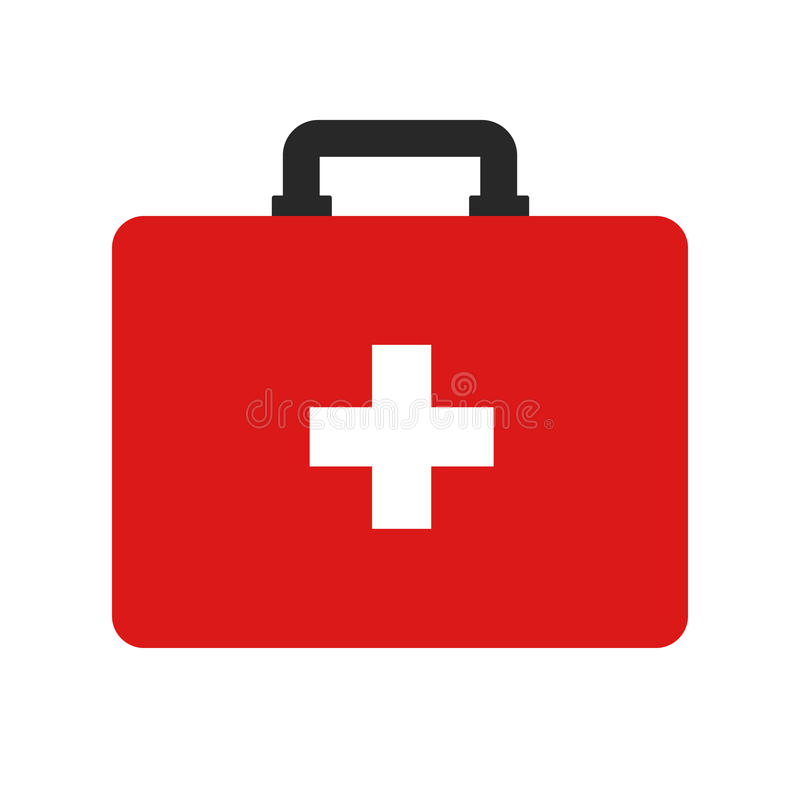 Flat icon first aid. vector illustration