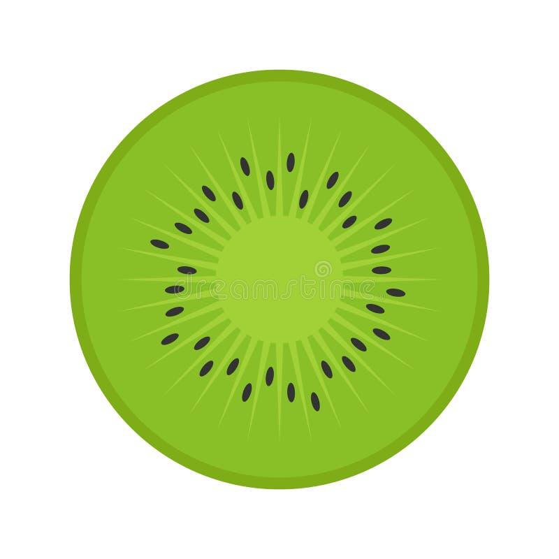 Flat icon kiwi stock illustration