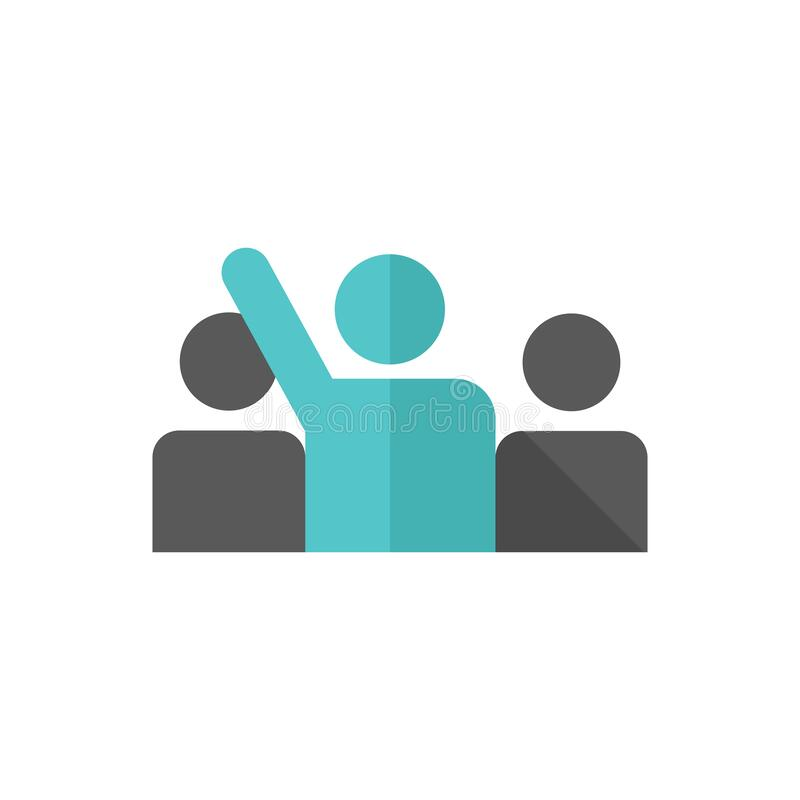 Free Flat Icon - Raise Hand Royalty Free Stock Images - 193428349