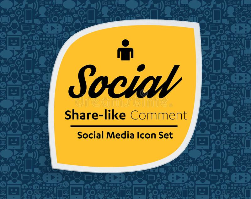 Flat icons in a speech bubble shape: technology, social media, network, link computer concept. Abstract background group of elemen. Ts. star smiley face sale vector illustration