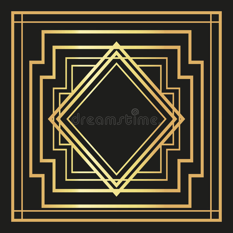 Flat illustration about gatsby background design stock vector download flat illustration about gatsby background design stock vector illustration of invitation frame stopboris Image collections