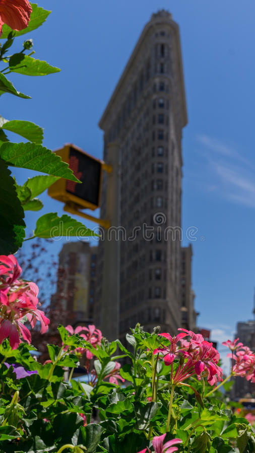 Flat Iron Building stock image