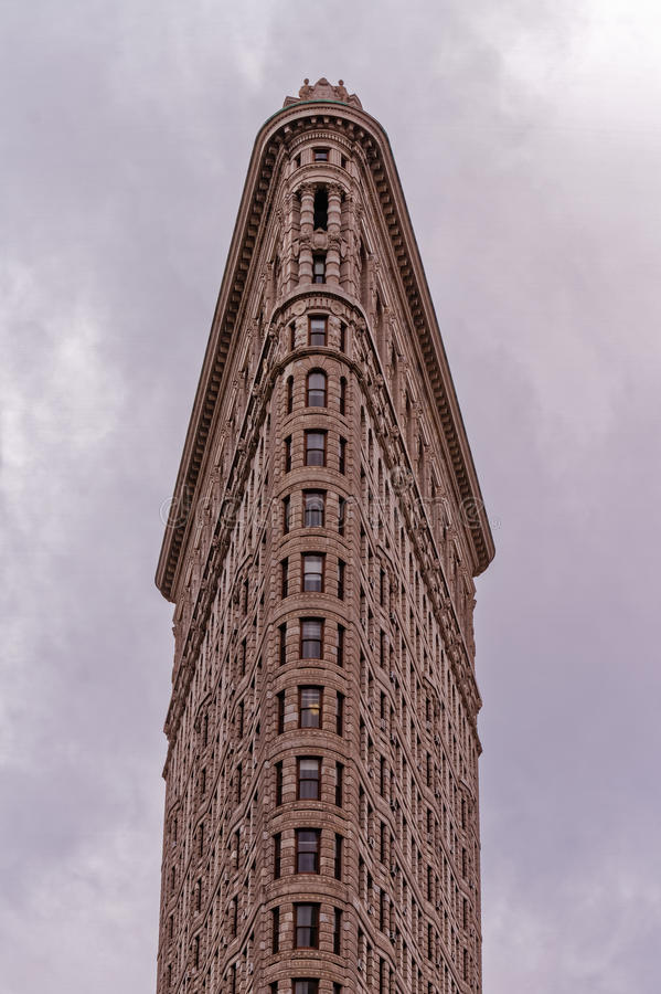 The Flat Iron Building in New York city royalty free stock photography