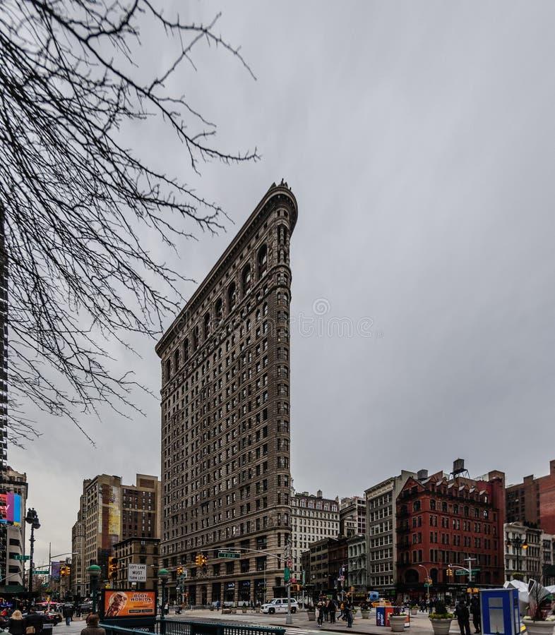 Flat Iron Building, New York City. stock photos