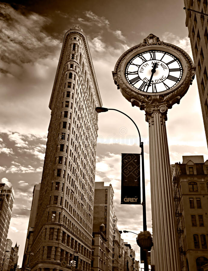 Free Flat Iron Building. NYC. Stock Images - 28418984