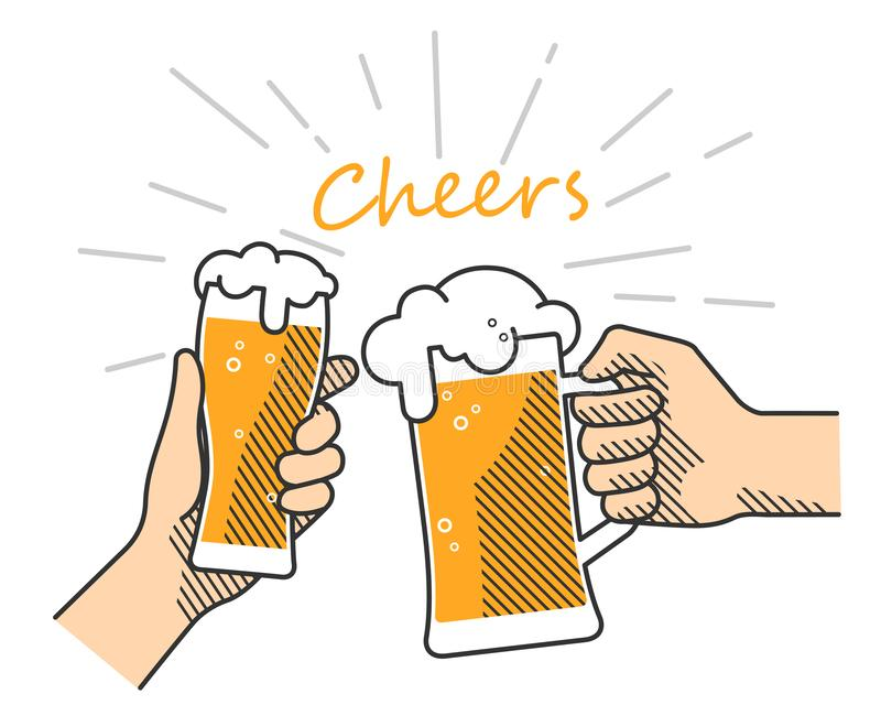 Cheers Stock Illustrations – 15,598 Cheers Stock ...