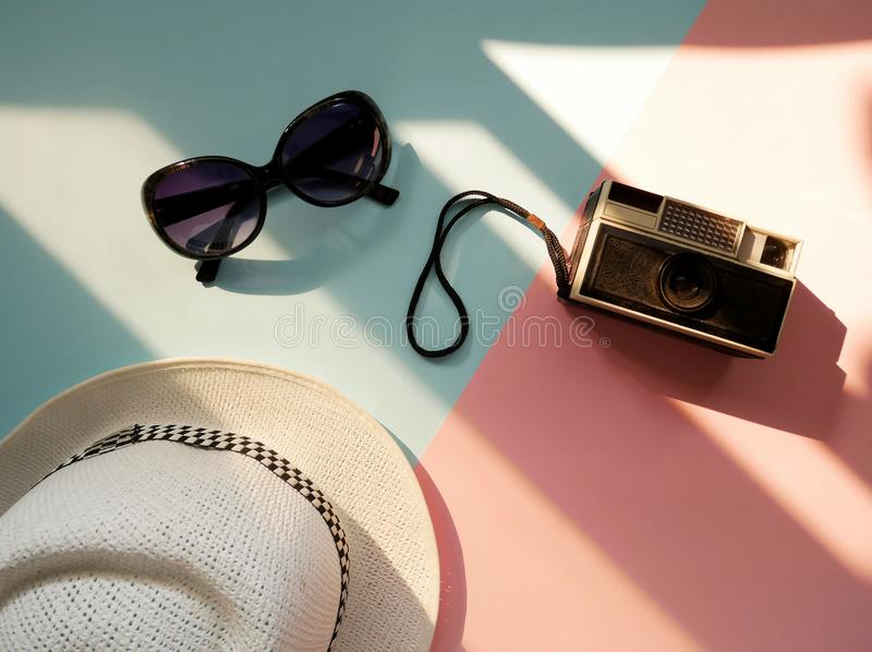 Travel summer holiday concept. royalty free stock image