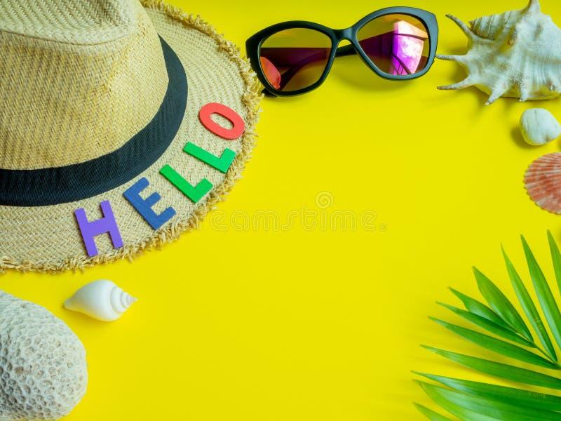 Hello Summer royalty free stock photography