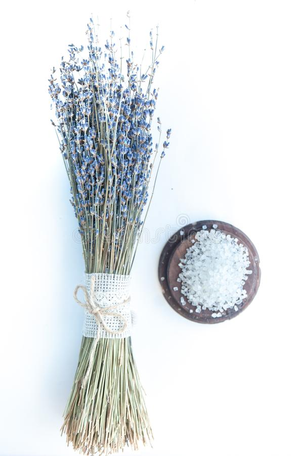 Flat lay organic, bio, natural cosmetics. royalty free stock images