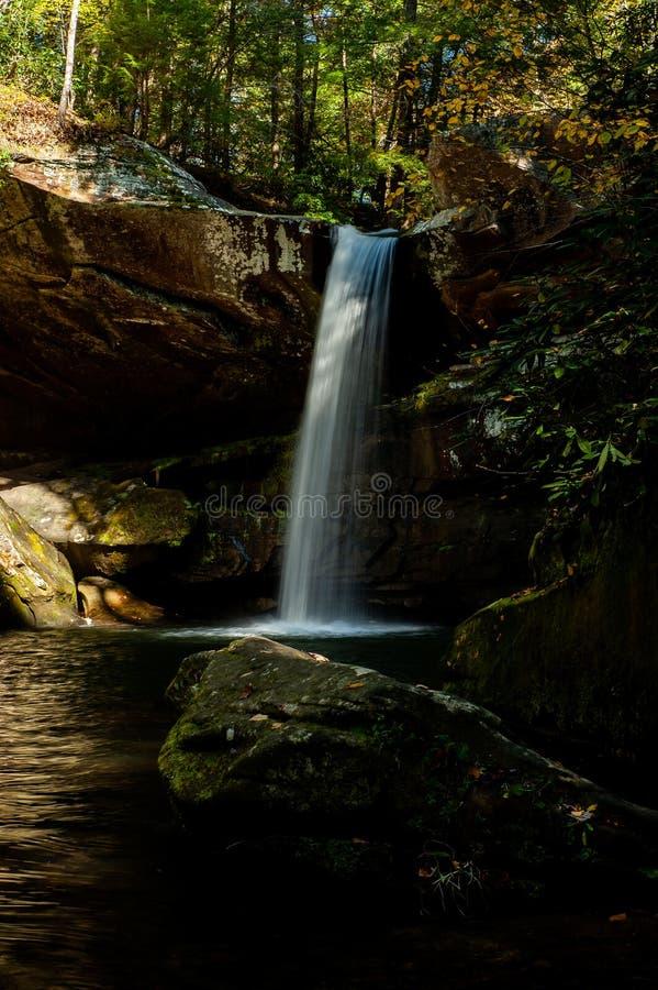 Flat Lick Falls - Eastern Kentucky Waterfall stockbild