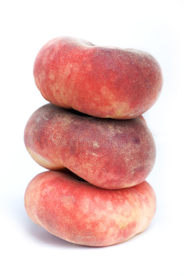 Download Flat Nectarine Stock Photography - Image: 26009652