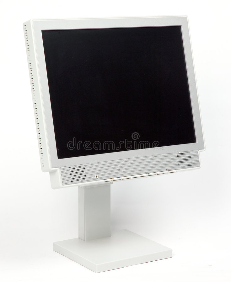 Download Flat PC Monitor Royalty Free Stock Image - Image: 1410106