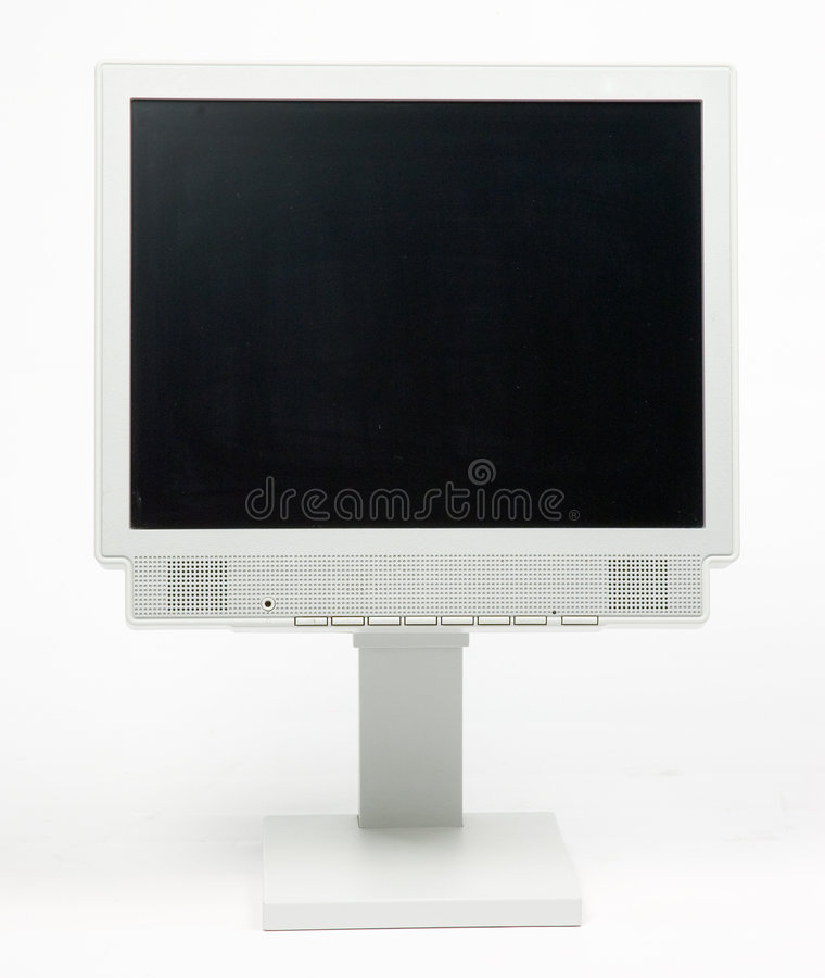 Download Flat PC Monitor Royalty Free Stock Photography - Image: 1410107
