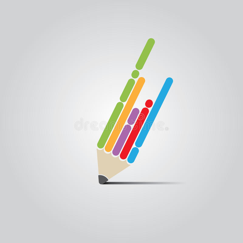 Flat Pen Design vector illustration