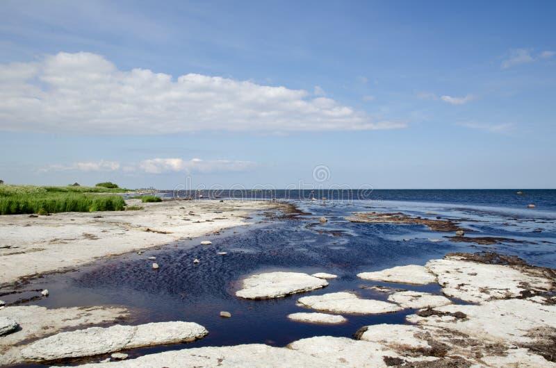 Download Flat Rock Coast Stock Photos - Image: 25176403