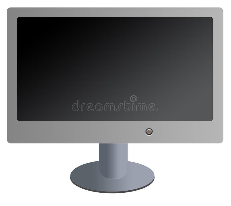 flat screen 皇族释放例证