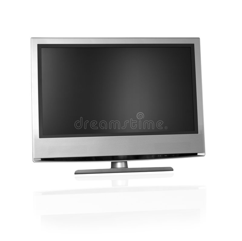 Download Flat screen tv stock image. Image of concept, movie, object - 1158653
