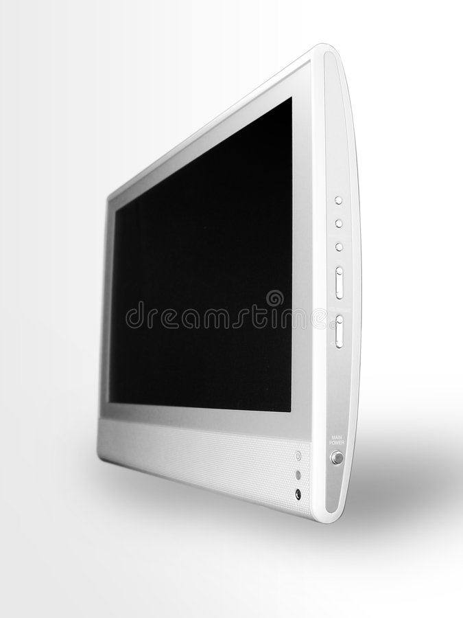 Flat screen TV 3 royalty free stock photo