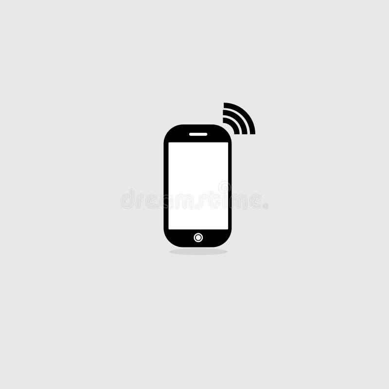 Telephone icon design illustrator stock photo