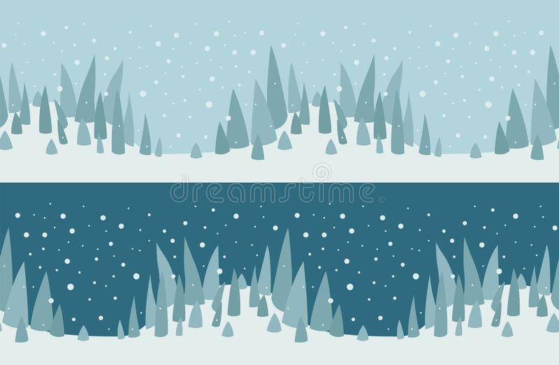 Flat style christmas holiday seamless pattern, banner, poster de. Sign. Vector illustration royalty free illustration