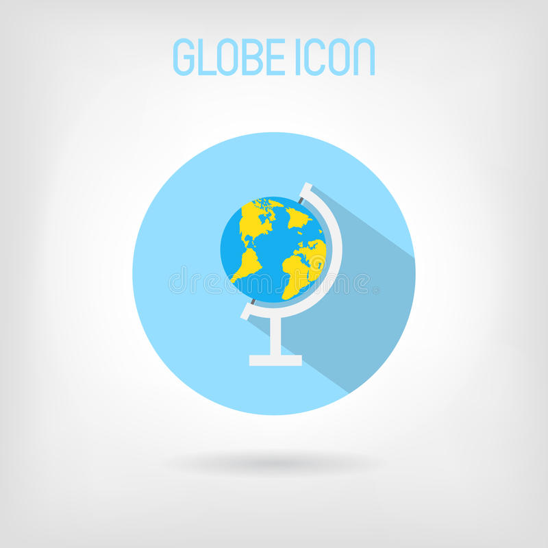 Flat styled school globe icon stock vector illustration of nature download flat styled school globe icon stock vector illustration of nature button gumiabroncs Gallery
