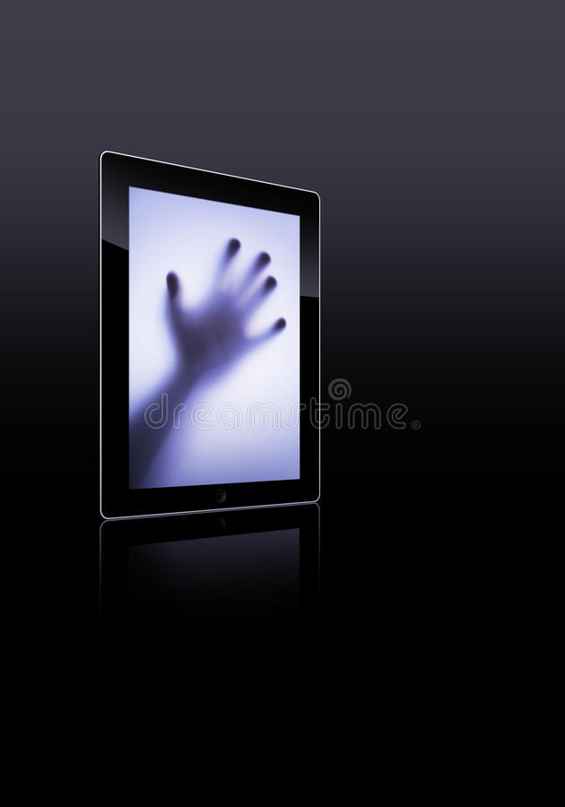 Download Flat tablet pc stock image. Image of data, multimedia - 21654229