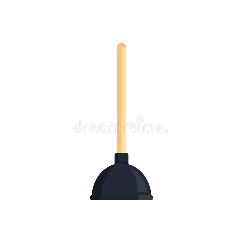 Free Flat Toilet Plunger Isolated On White Background. Household Cleaning Tool For Toilet, Bath, Kitchen. Housework Equipment Royalty Free Stock Photography - 114150567