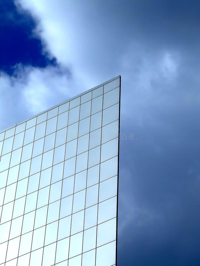 Flat wall on a sky royalty free stock photos