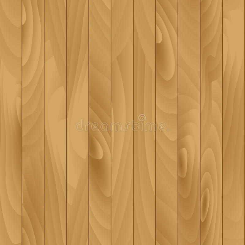 Flat Wood Texture Vector Seamless Illustration stock illustration