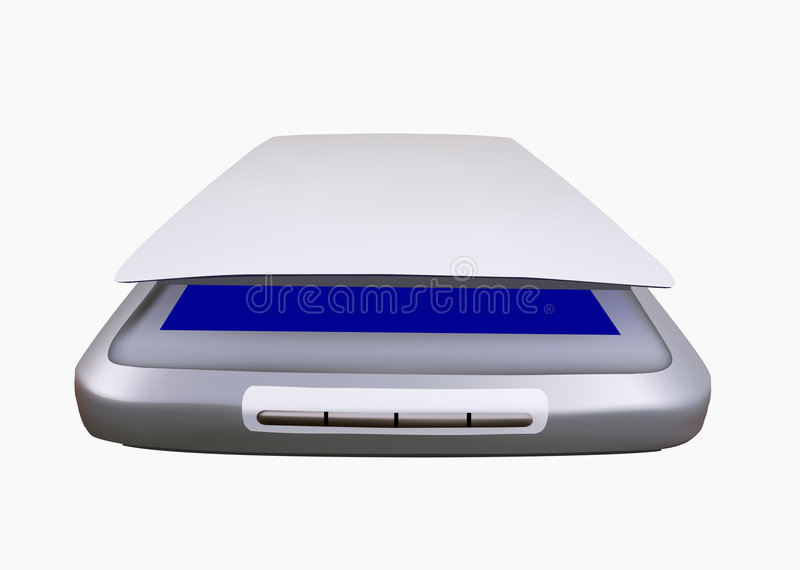 Flatbed Scanner Royalty Free Stock Photos