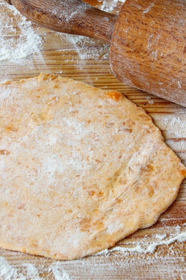 Flatbread de patate douce photos stock