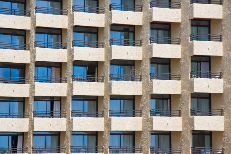 Flatgebouw stock foto