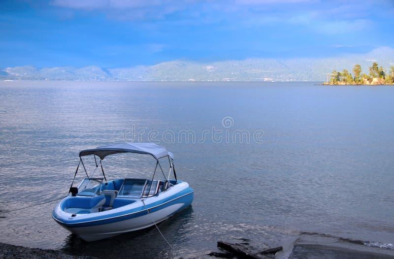 Flathead λίμνη στοκ φωτογραφία
