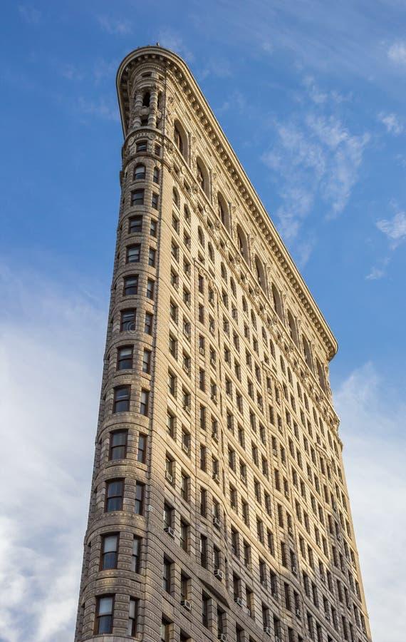 Flatiron大厦的上面在纽约 免版税库存照片
