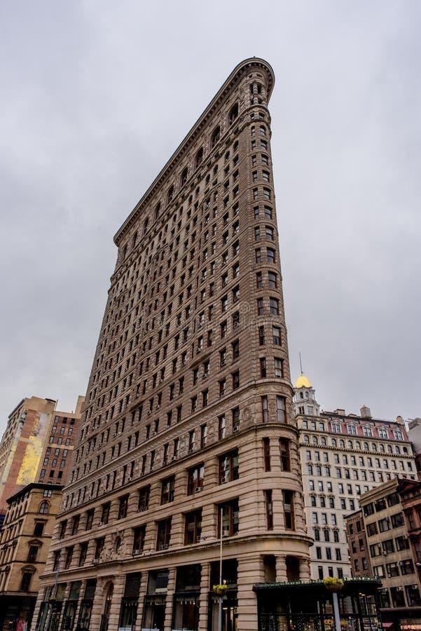 Flatiron大厦- NYC 免版税库存照片