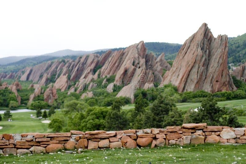 flatiron βουνά στοκ εικόνα με δικαίωμα ελεύθερης χρήσης
