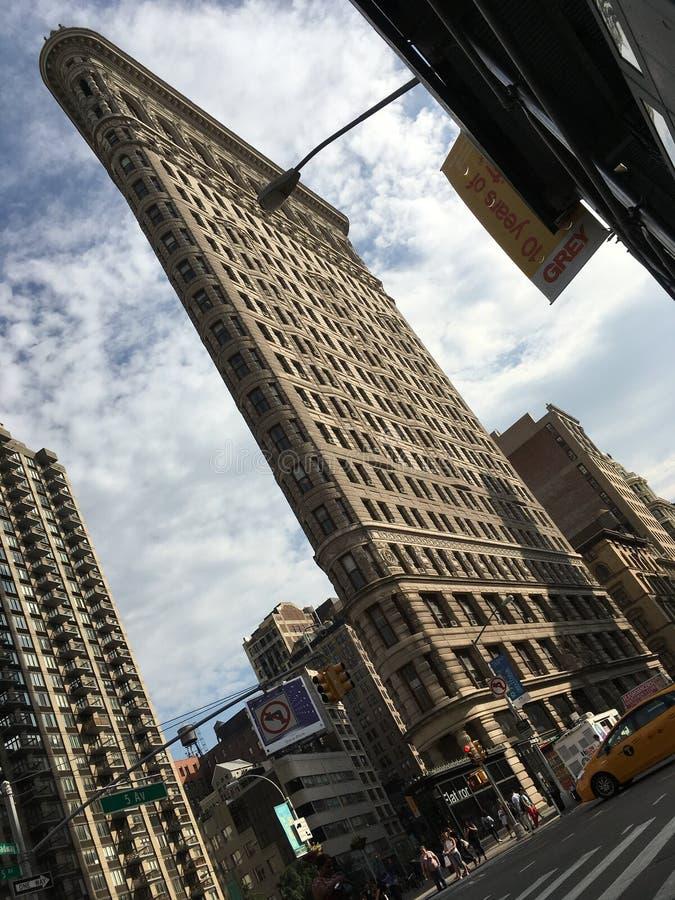 The Flatiron building in Manhattan. New York City, United States stock photo