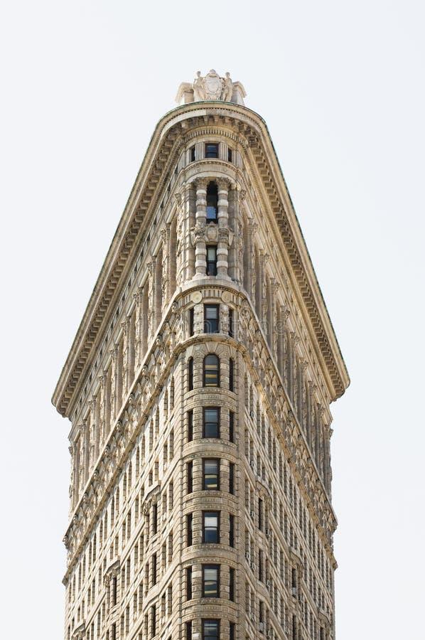 Flatiron Building shot straight on royalty free stock photography