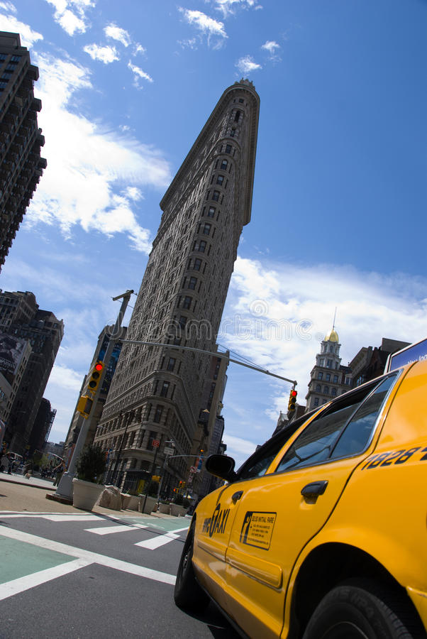 Flatiron byggnad New York City royaltyfria foton