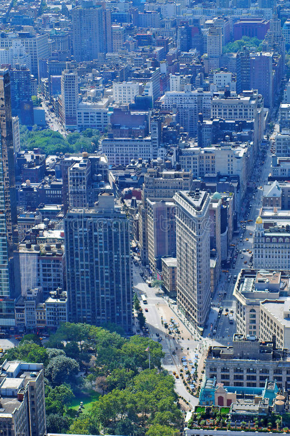 Download Flatiron District New York stock photo. Image of boulevards - 12620426