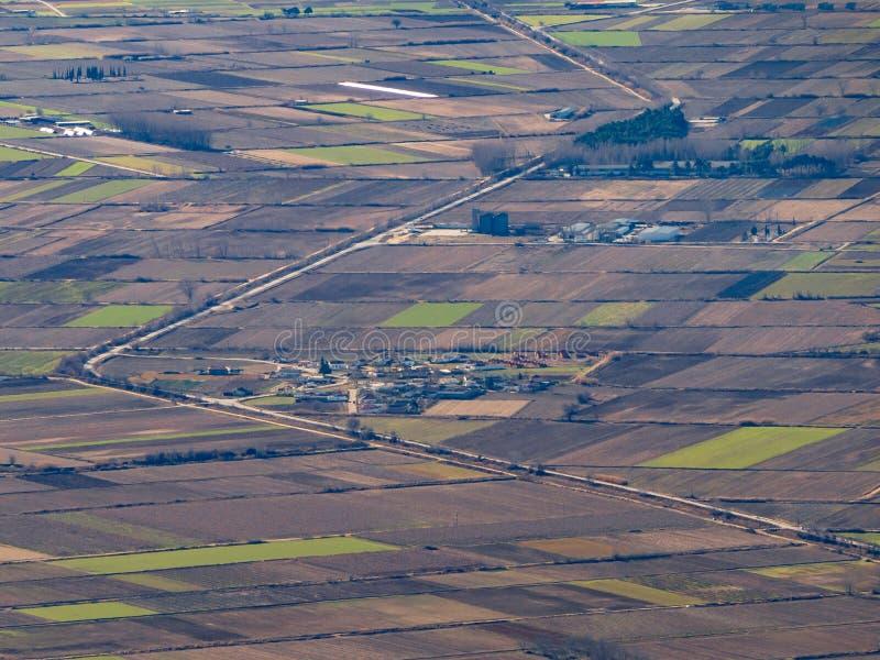 Flatlands Macedonia region Grecja zdjęcie royalty free