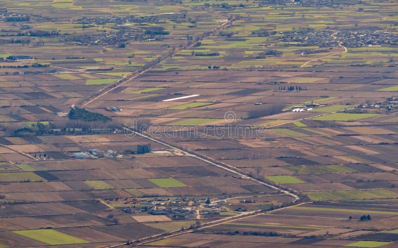 Flatlands Macedonia region Grecja fotografia royalty free
